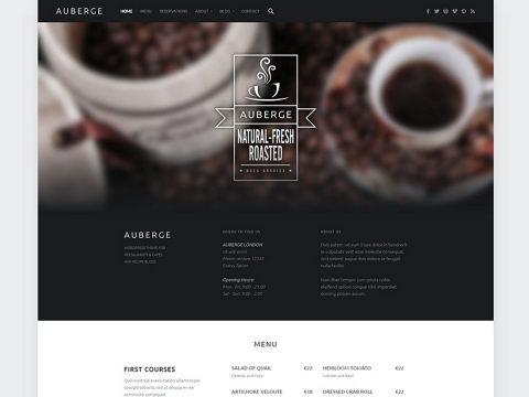 Auberge WordPress Theme