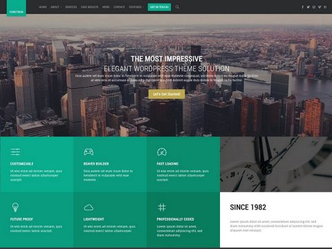 Forstron WordPress Theme