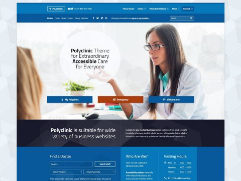 Polyclinic WordPress Theme